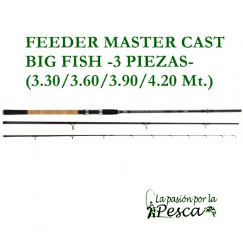 CANNE FEEDER M. CAST B. FISH - MED. 330