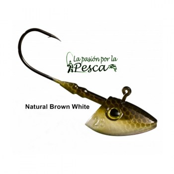 G VERTI NATURAL BROWN WHITE 14G6