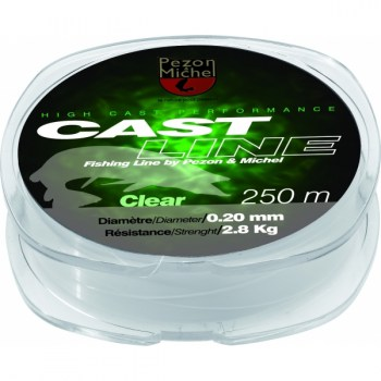 NYLON CAST LINE CLEAR 0,20